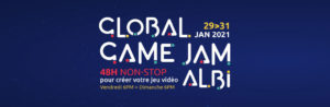La Global Game Jam 2021 à Albi 100% en ligne